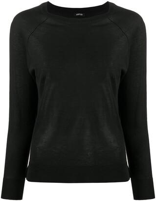 Aspesi Raglan Sleeved Sweater