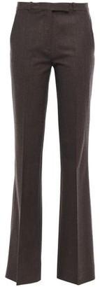 Etro Brushed Wool-blend Twill Bootcut Pants