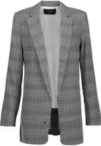 Equipment Kadley printed silk blazer