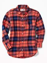 Old Navy Boyfriend Flannel Tunic for Girls