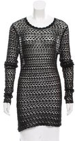 Isabel Marant Crocheted Long Sleeve Sweater
