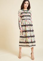 ModCloth Folklore Has It Midi Dress in 2X
