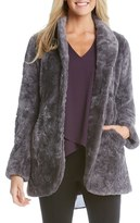 Karen Kane Women's Faux Fur Jacket