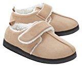 Dream Best Friend Adjustable Slippers, Ladies S (5-6), Tan