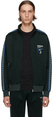 Missoni Green Crest Zip Sweater