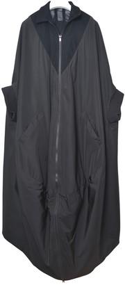 Y-3 Black Coat for Women