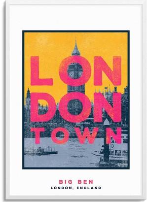 Jando Big Ben London Town Series A3 Print