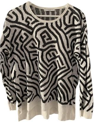Sandro White Linen Knitwear for Women
