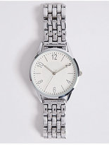 M&S Collection Round Face Modern Bracelet Watch