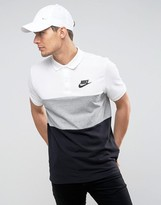 Nike Matchup Polo Shirt In White 847646-100