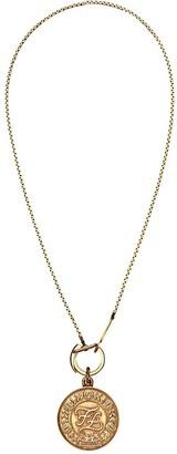 Fendi Karligraphy necklace