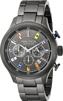 Nautica Men's NAD20011G NCT 16 FLAGS Analog Display Quartz Watch