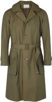 Kolor Olive Cotton Coat