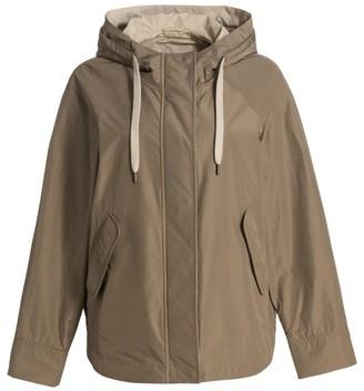 Brunello Cucinelli Water Resistant Hooded Taffeta Jacket
