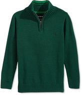 Calvin Klein Boys' Mock-Neck Sweater