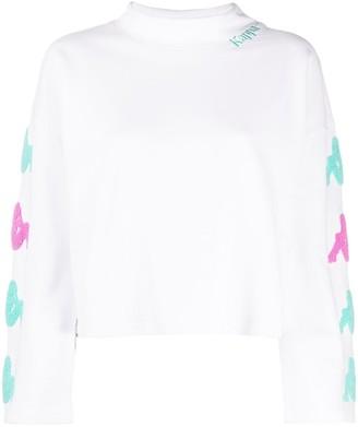 Kappa logo patch sweatshirt