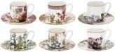 Roberto Cavalli Flowers Espresso Cup & Saucer