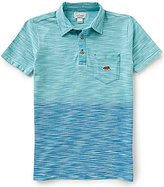 Lucky Brand Big Boys 8-20 Tidal Ombre Short-Sleeve Polo Shirt