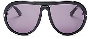 Tom Ford Women's Cybil Infinity Tube Aviator Sunglasses, 60mm