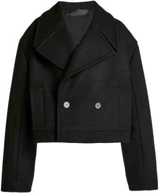 Haider Ackermann Short Caban Cropped Coat
