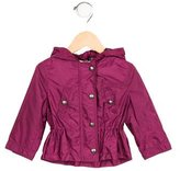 Burberry Girls' Lightweight Hooded Jacket