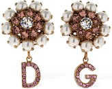 Dolce & Gabbana CHRISTMAS FAUX PEARL CLIP-ON EARRING