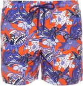 Vilebrequin Moorea Forest paradise-print swim shorts