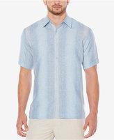 Cubavera Men's Textured Striped Shirt
