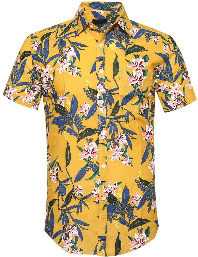 c8318b3c1 Flower Print Short Sleeve Shirt - ShopStyle Canada