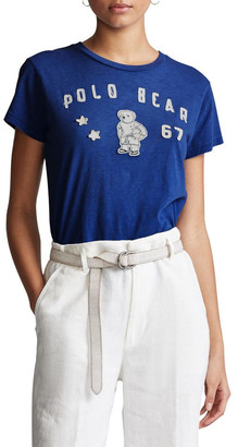 Polo Ralph Lauren Polo Bear Patch Jersey Tee
