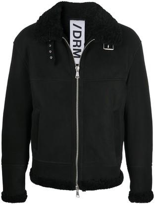 Drome Belted-Neck Aviator Jacket