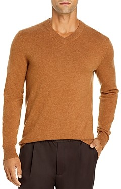 Theory Hilles Cashmere V Neck Sweater