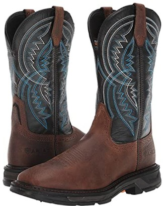 Ariat WorkHog(r) XT Coil Wide Square Toe (Earth/Twilight) Men's Work Boots