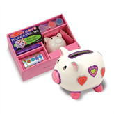 Melissa & Doug DYO Piggy Bank Arts & Crafts Kit