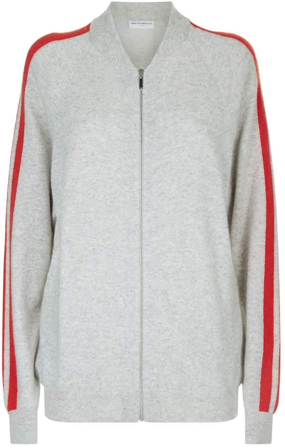 Amanda Wakeley Cashmere Bomber Jacket