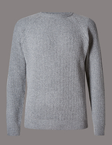 Autograph Merino Wool Blend Jumper With Cashmere