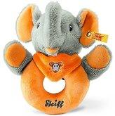 Steiff Trampili Elephant Grip Toy (Grey/Orange) by