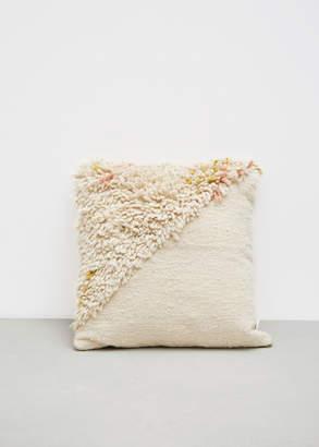 Minna Split Shag Pillow