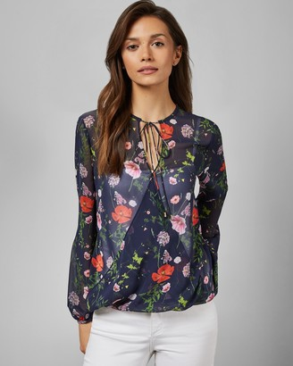 Ted Baker VALNTIA Hedgerow neck tie top