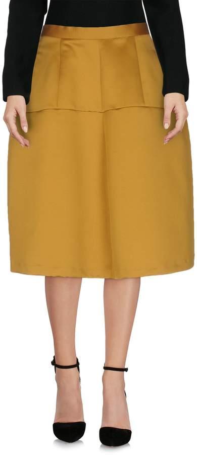 Garage Nouveau Knee length skirts - Item 35297587BL