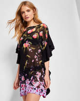 Ted Baker Peach Blossom square coverup