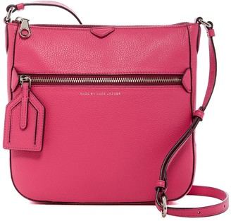 Marc by Marc Jacobs Leather Globetrotter Kit Calley Crossbody
