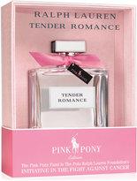 Ralph Lauren Tender Romance Pink Pony Eau de Parfum Limited Edition, 3.4 oz