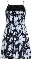 Abercrombie & Fitch Summer dress navy/exploded white