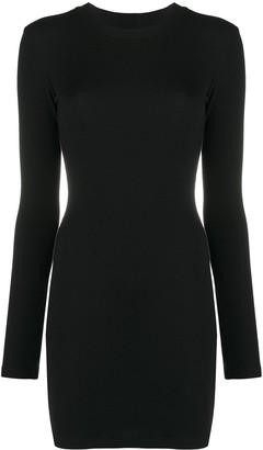 Heron Preston Stretch Bodycon Mini Dress