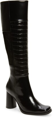 Jeffrey Campbell Hunted Square Toe Boot