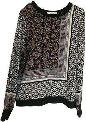 Essentiel Antwerp Black Silk Top for Women