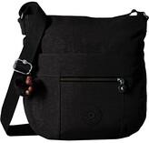 Kipling Bailey Saddle Bag Handbag (Black 1) Handbags