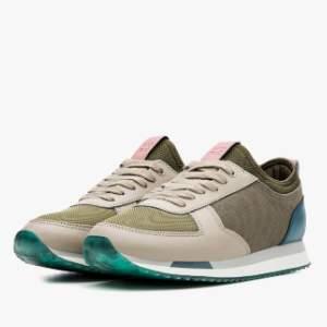 The Hoff Brand - Womenswear Limited Edition Niseko Sneaker - 36 - Grey/Teal/Blue