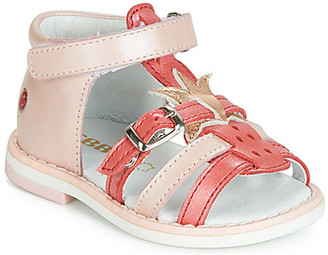 GBB CARETTE girls's Sandals in Pink